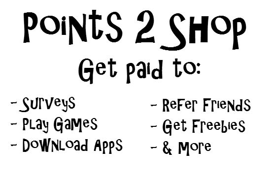 Get paid to do Surveys, Play Games, Download App, Refer Friends and more at Points2Shop