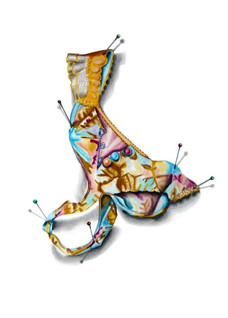 Ce dessin représente le string proposé par Sandrine