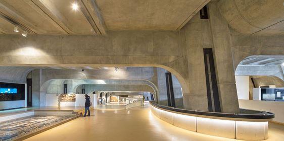 L'intérieur du musée gallo-romain