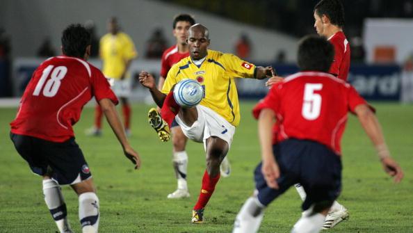Chile y Colombia en Clasificatorias a Sudáfrica 2010, 10 de septiembre de 2008