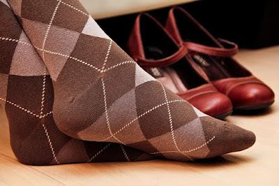 Το κορίτσι με τις ίδιες κάλτσες