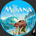 Moana Bluray Label