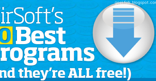 Gadgets, games, hard'n'soft: NirSoft's 10 Best programs ...