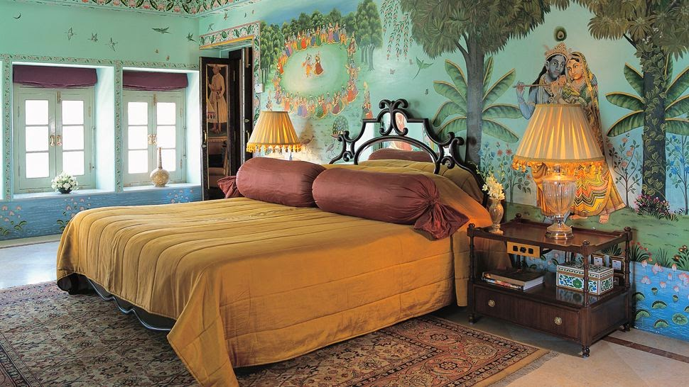 Sajjan Niwas Suite - Taj Lake Palace Udaipur