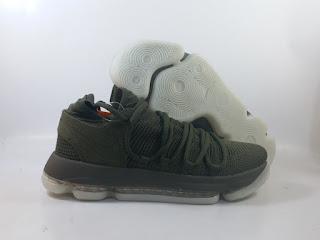 Nike KD 10 - Olive Green