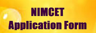 NIMCET Application Form