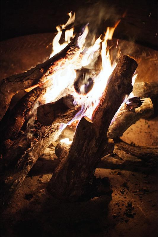 fuego boda en África chicanddeco