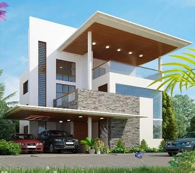 Contoh Model Atap Rumah Minimalis 1 & 2 Lantai Modern