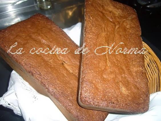 BIZCOCHO DE CHOCOLATE Y WHISKY