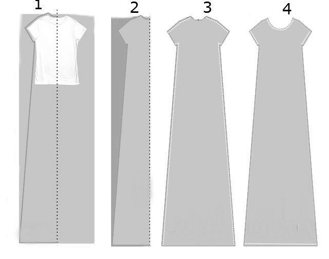gk kreativ: T-Shirtkleid selber nähen