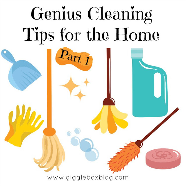 cleaning tips for the home, helpful tips on making a cleaning routine, cleaning with vinegar, making your own cleaning solutions, cleaning with household items,