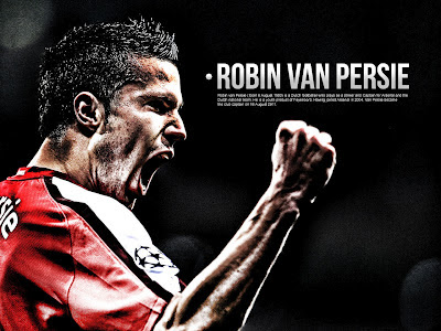 Football Super Star Player: Robin Van Persie Fresh HD Wallpapers 2012,2013