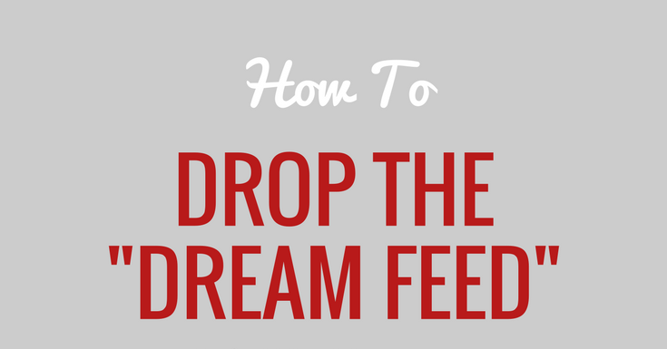 how to get baby to drop night feed