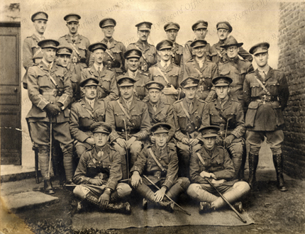 2nd Battalion, Durham Light Infantry, Captain Joseph Shea, August 1917 (DCRO DLI 2/1/267(33))
