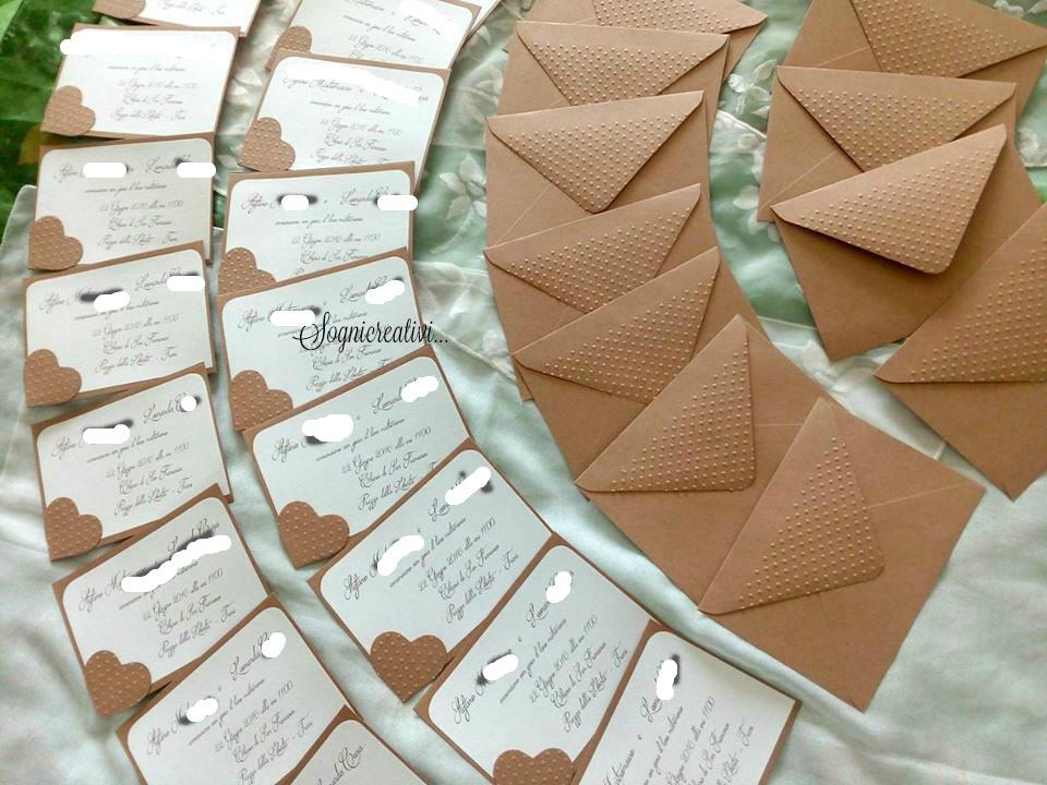 Matrimonio Stile Rustico : Partecipazioni sognicreativi wedding and events
