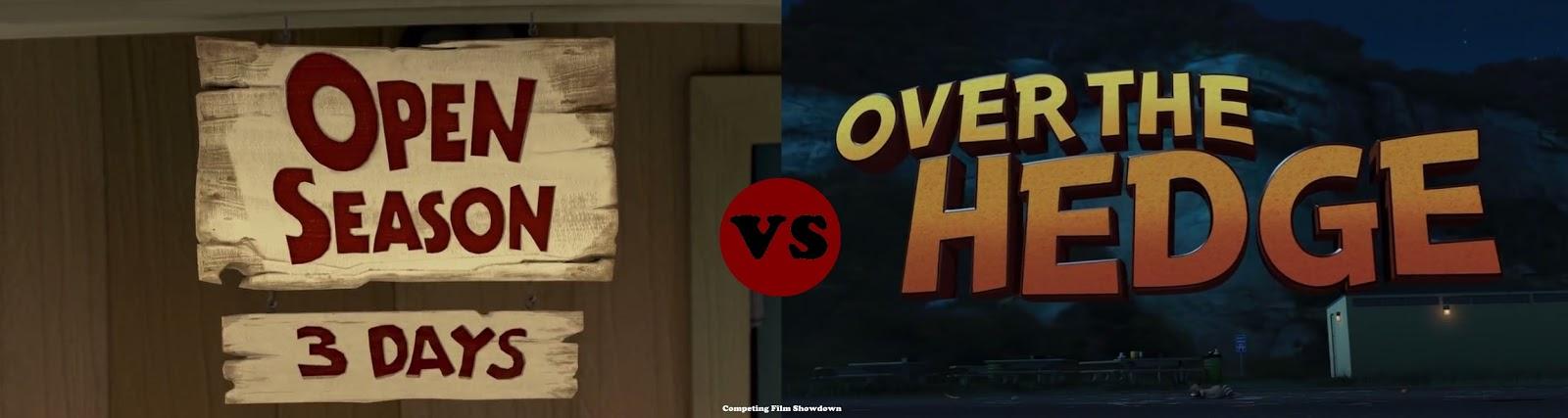 7877bfa39 Competing Film Showdown  COMPETING FILMS - Open Season (2006) vs ...