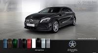 Mercedes A250 2015 màu Đen Night 696