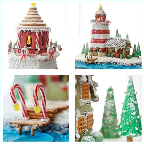 Coastal Living Gingerbread Lighthouse Recipe
