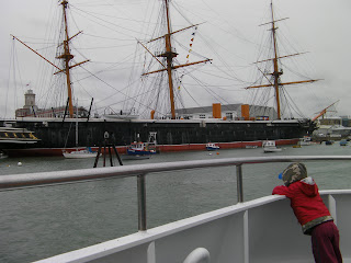hms warrior 1860 moored at portsmouth historic ships