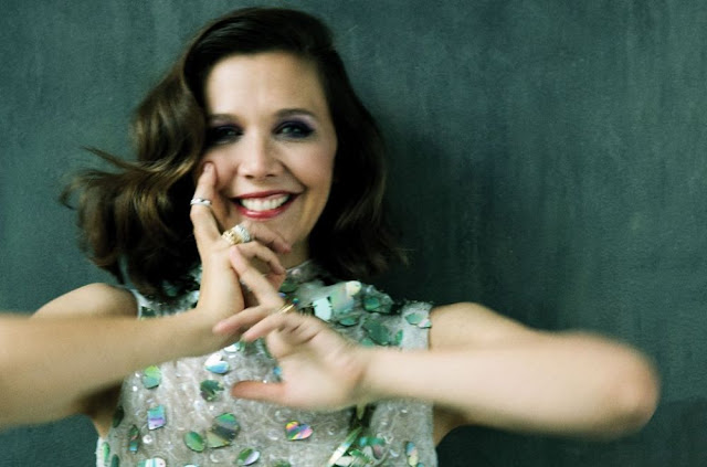 Photoshoot of Maggie Gyllenhaal for As If Magazine, November 2017