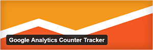 Google Analytics Counter Tracker plugin