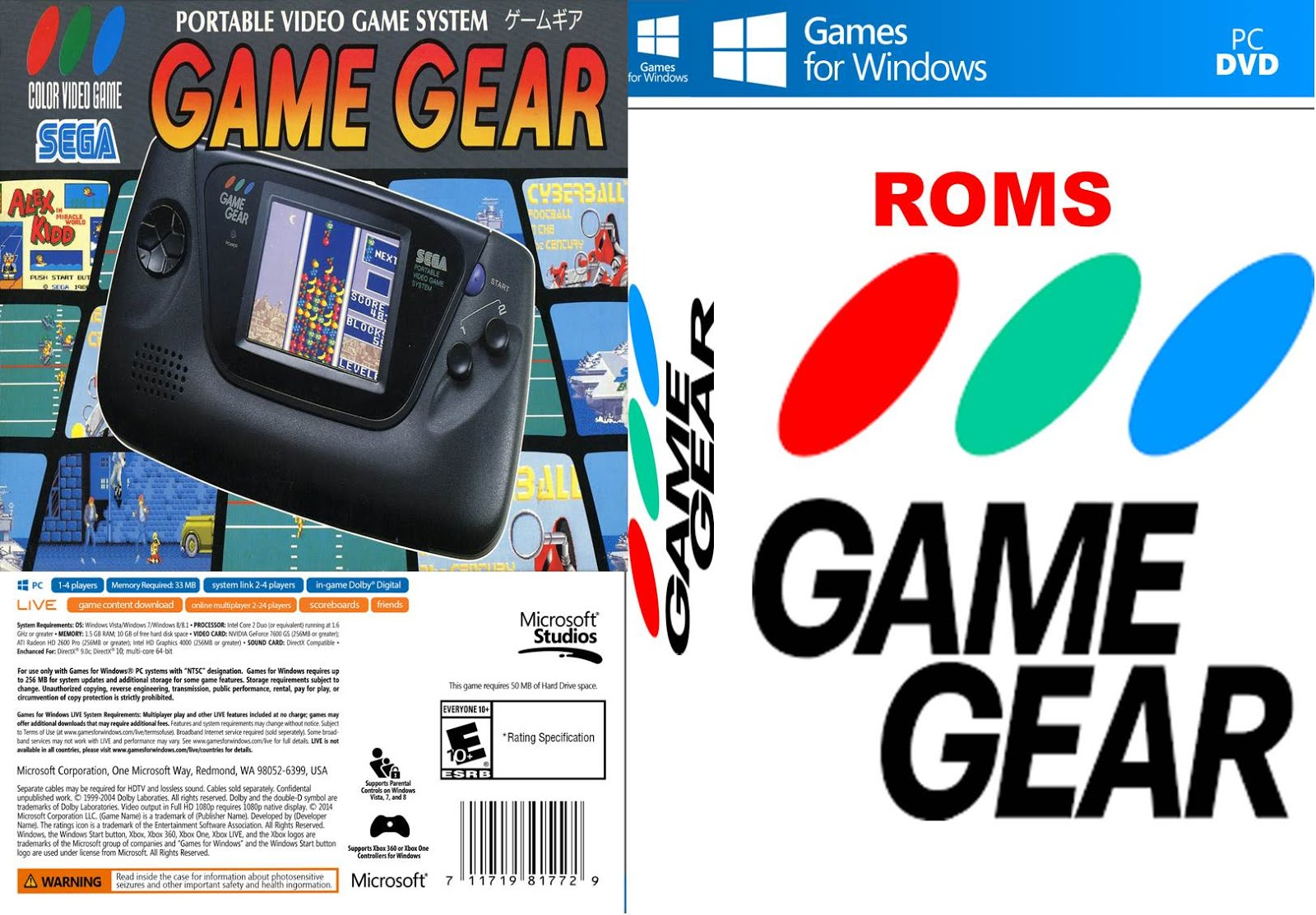 game gear roms downloads