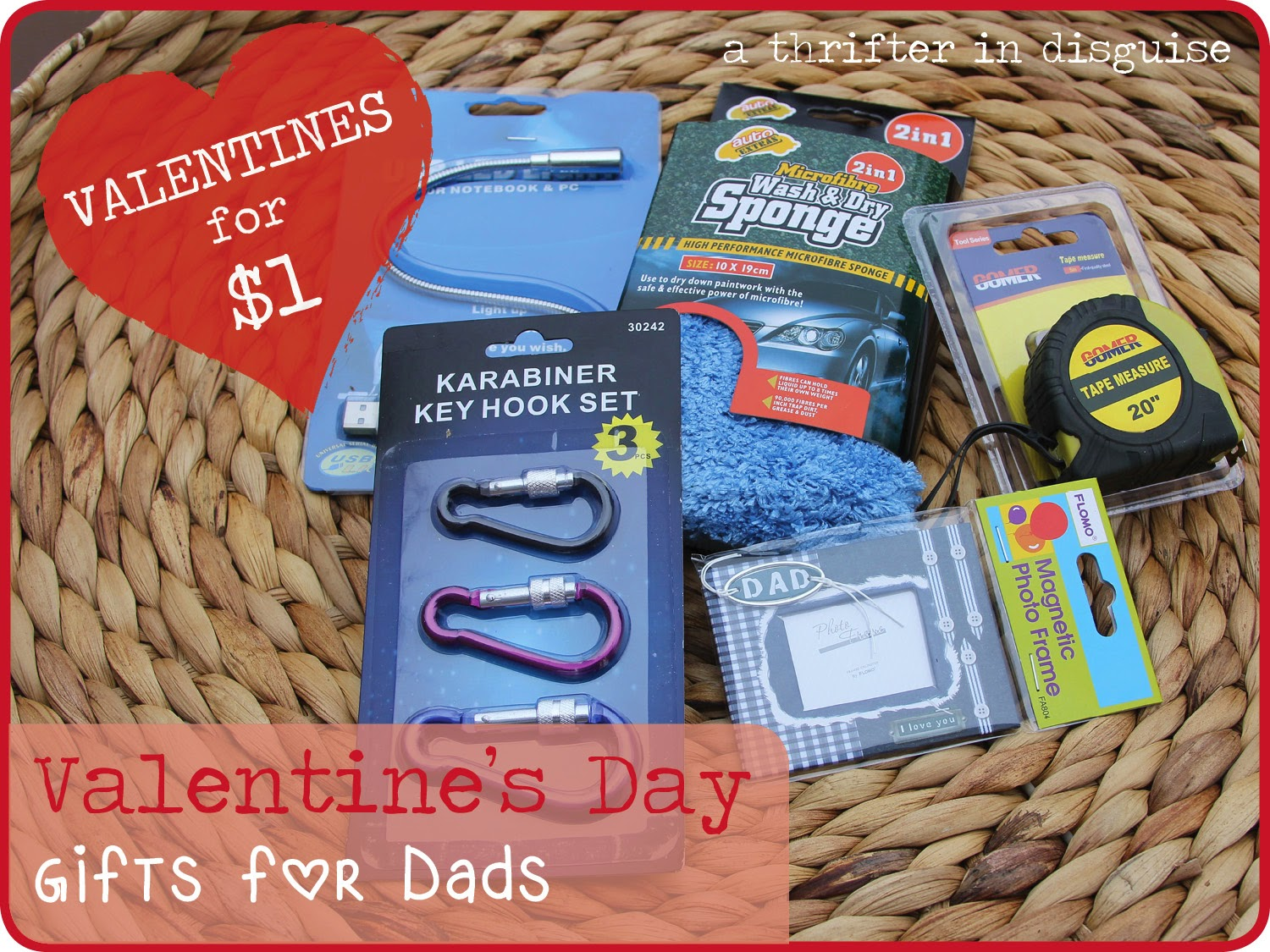 A Thrifter In Disguise This Valentines Day Dont Forget The Dads