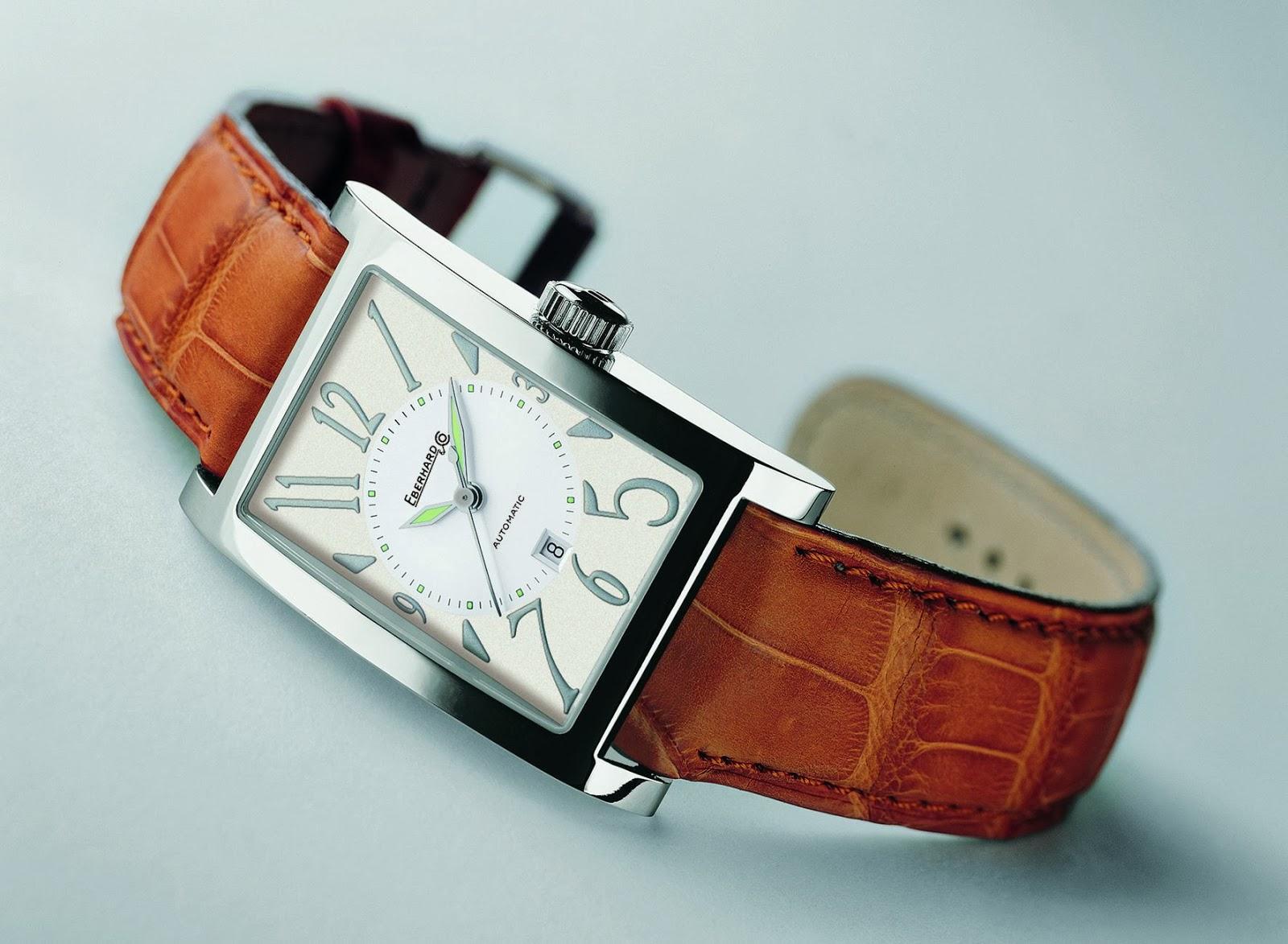 EBERHARD & Co. Les Courbées automatic watch