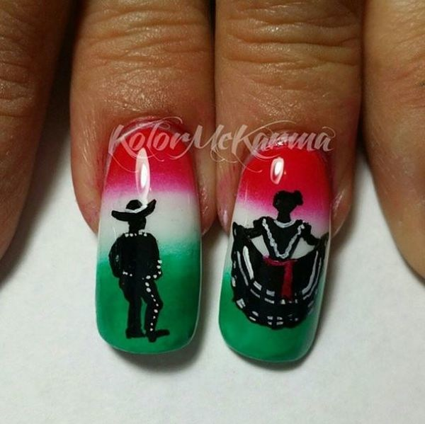 12 Nail Designs To Celebrate Cinco De Mayo In Style Just Entertainment