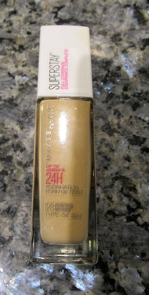 Maybelline Super Stay 24H Full Coverage Foundation ~ #Review