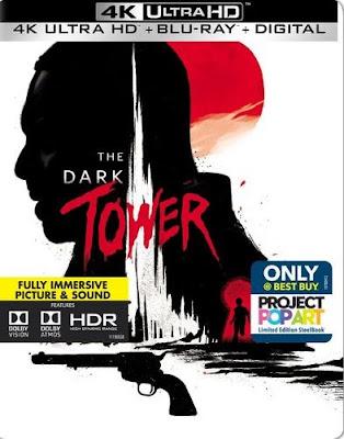 The Dark Tower 4K, Blu-Ray, Digital HD