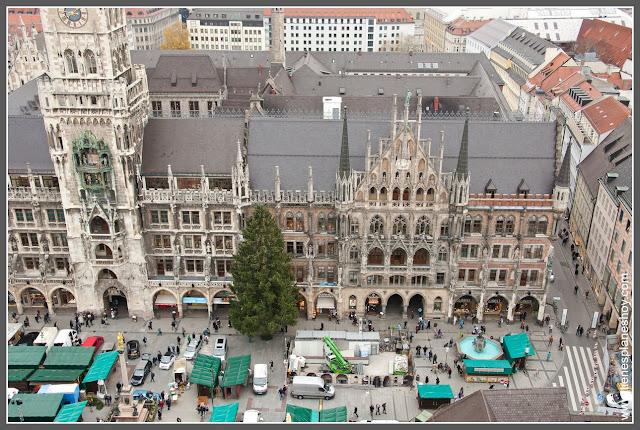 Marienplatz Munich (Alemania)