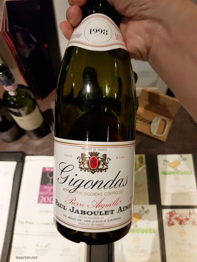 Paul Jaboulet Aîné, Gigondas Pierre Aiguille 1998