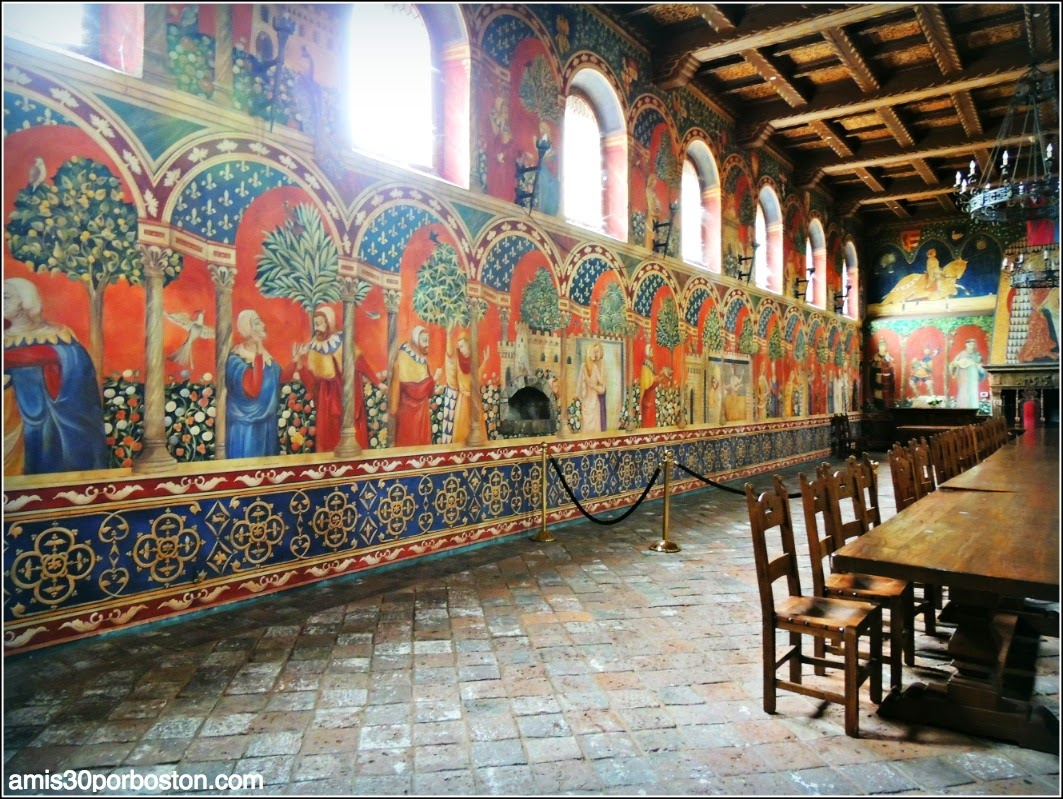 Ruta por las Bodegas del Valle de Napa: Frescos del Castello di Amorosa