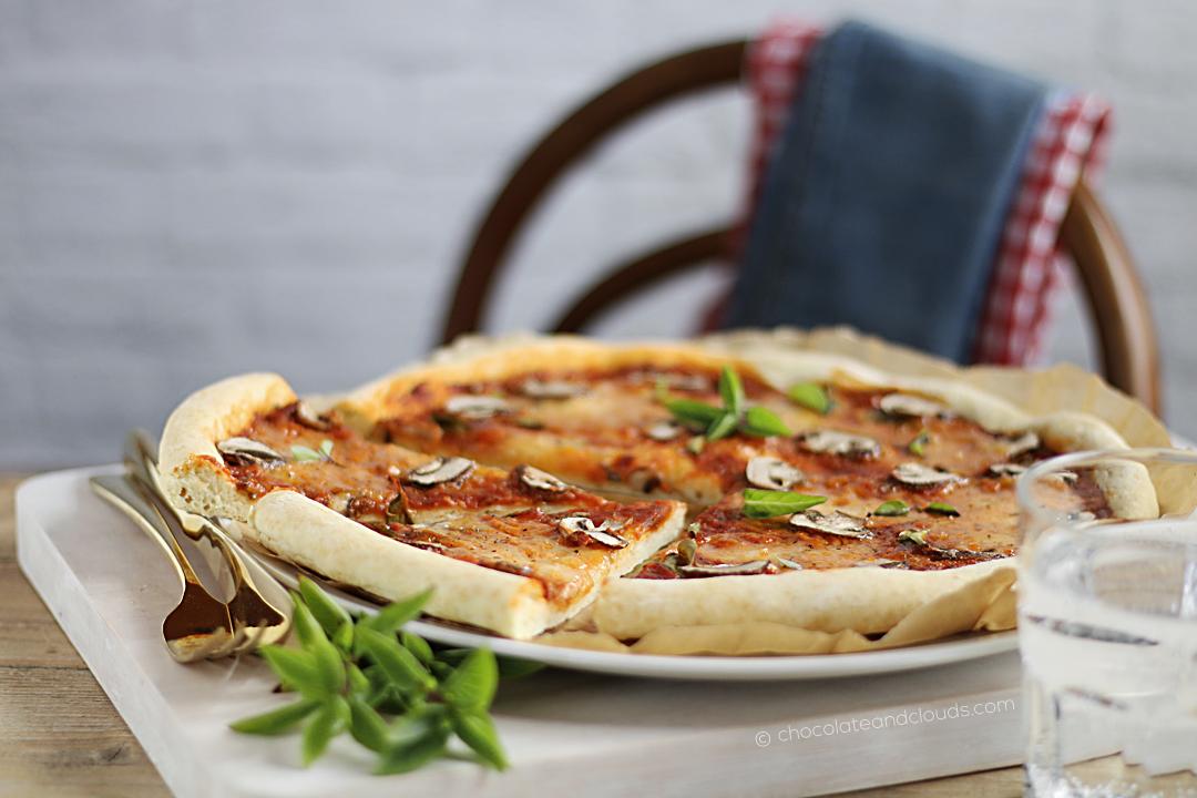 schnelles pizza rezept ohne hefe
