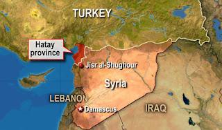 Jisr al-Shughour region in Western Idlib