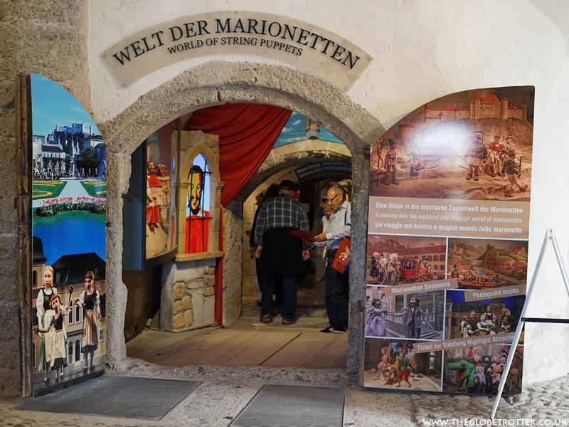 Marionette Museum in Salzburg