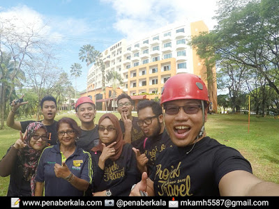 Bersama orang kuat Hotel Klana Resort Seremban