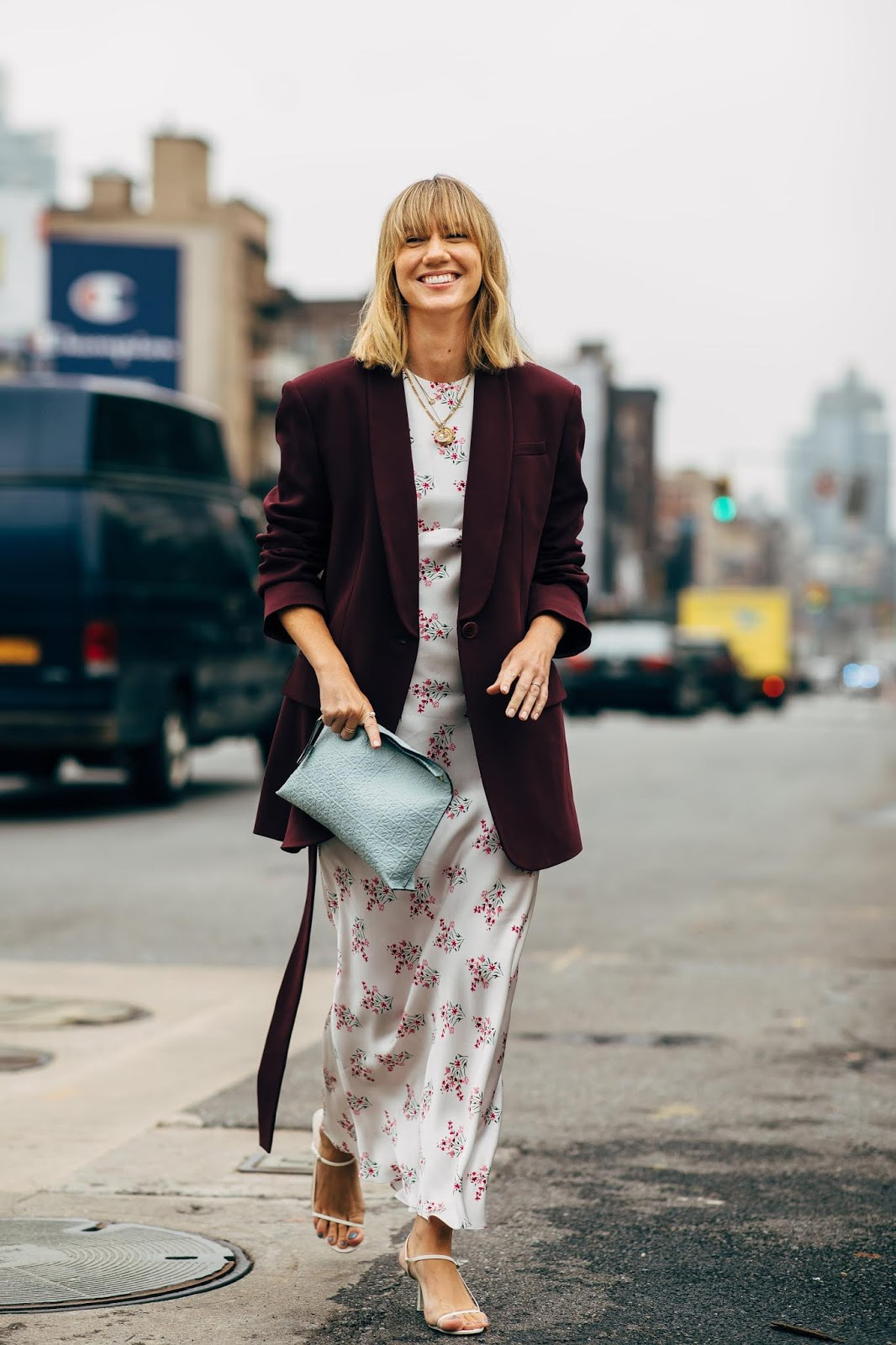 How to Wear a Floral Dress for Fall — Lisa Aiken Street Style