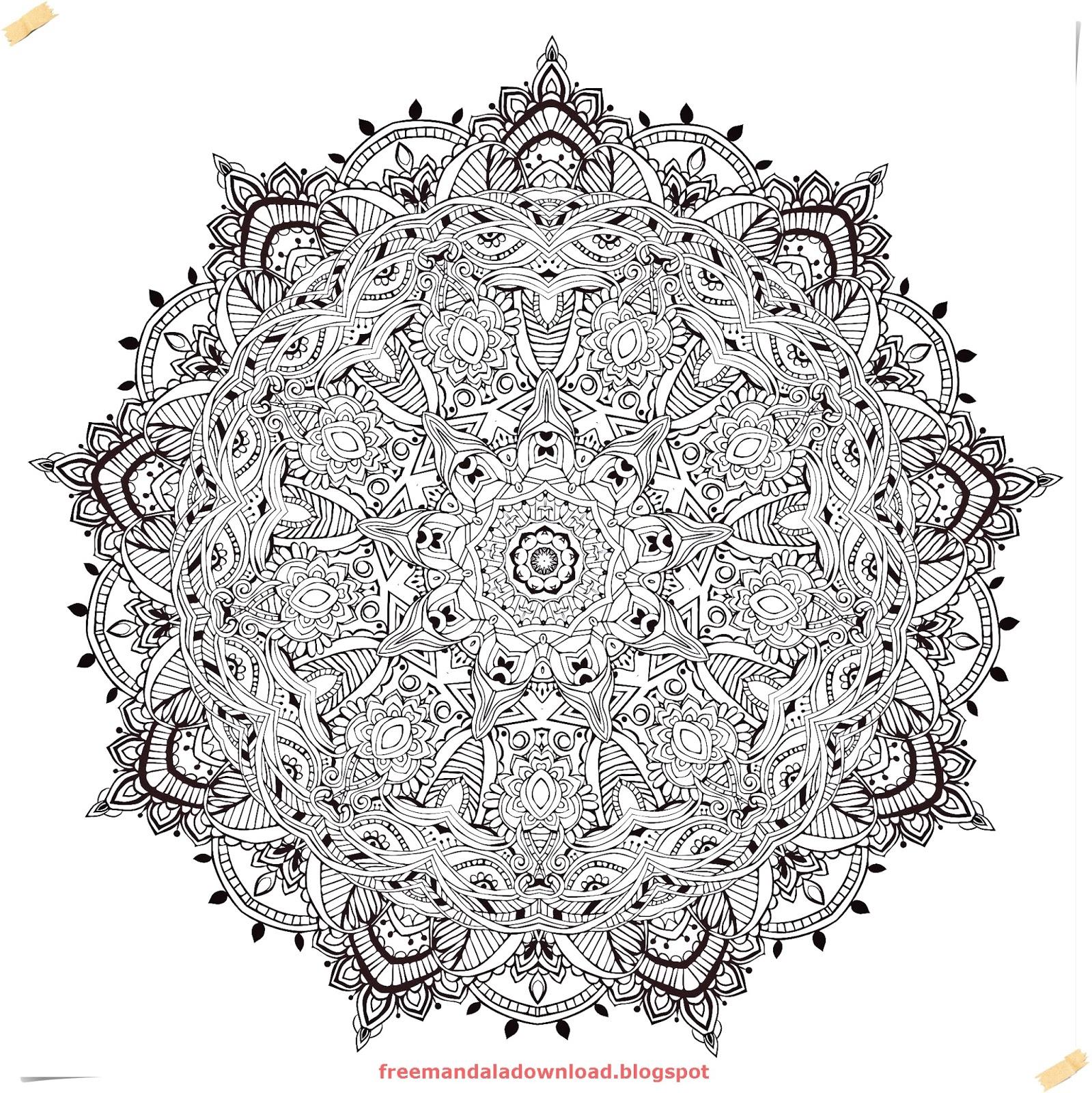 Schön Komplizierte Mandalas Malvorlagen Fotos - Ideen fortsetzen ...