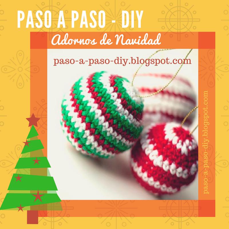 Adornos de navidad tejidos diy paso a paso for Adornos navidenos tejidos a crochet 2016