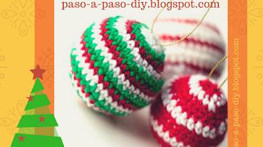 Adornos de Navidad Tejidos - DIY