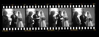 wedding photographs exeter, filmstrip wedding photographs