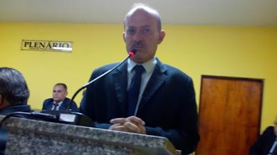 """Alcântaras: Presidente da Câmara Gilberto do Quinca: """"minha ..."""