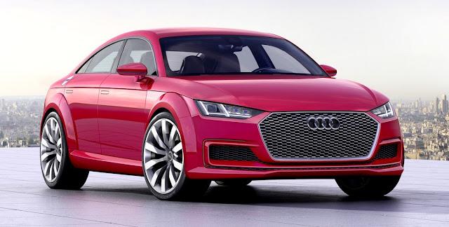 2018 Audi TT Sportback concept