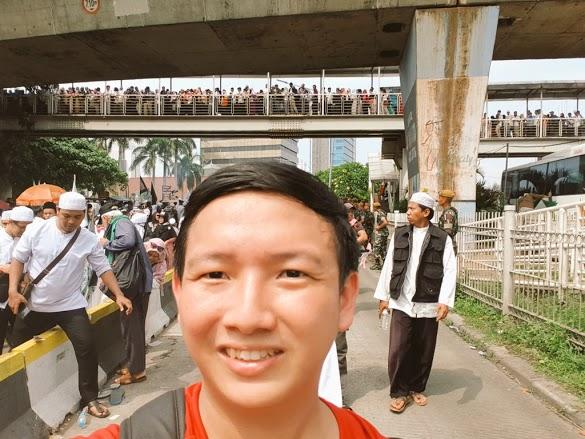 Datang Reuni 212 Tanpa Menyamar, Ungkapan Non Muslim Ini Bikin Bangga