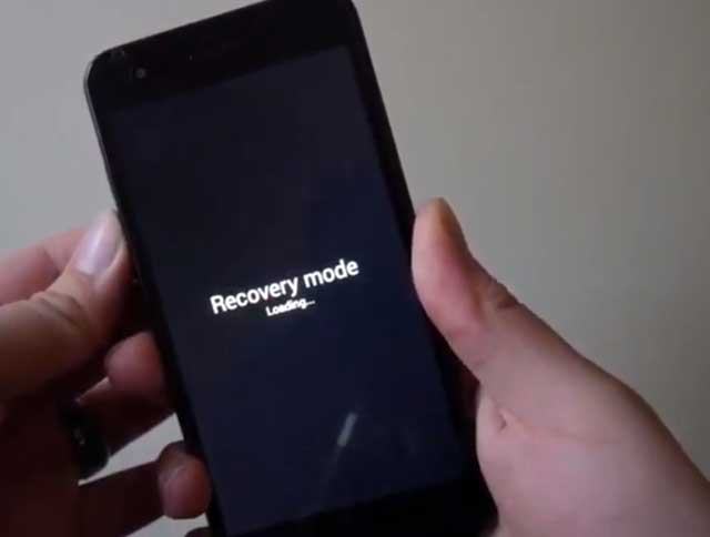 recovery mode lg tribute hd