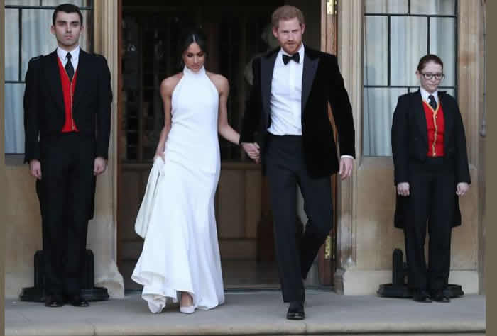 Prince Harry, Meghan wed amid glamour