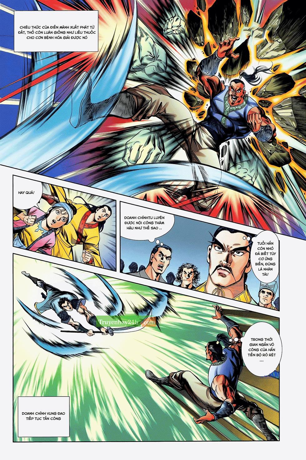 Tần Vương Doanh Chính chapter 22 trang 12