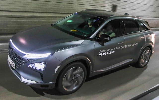 Hyundai Nexo Fuel Cell tem autonomia de 609 quilômetros